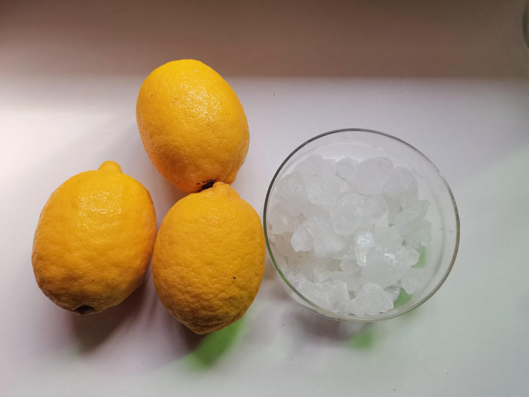 冰糖柠檬的做法大全