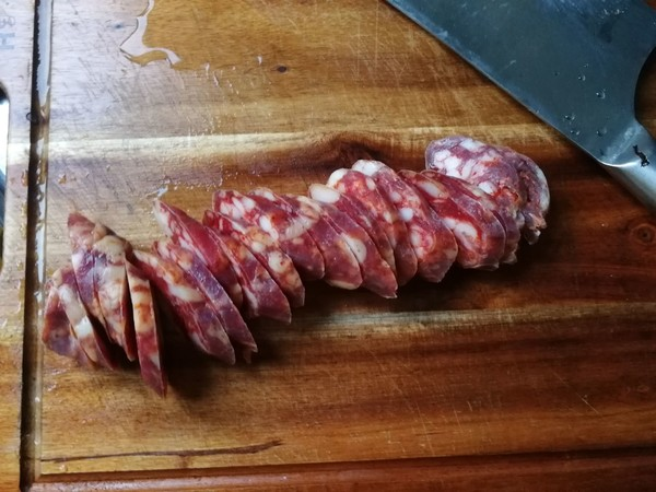 清蒸川味香肠的家常做法