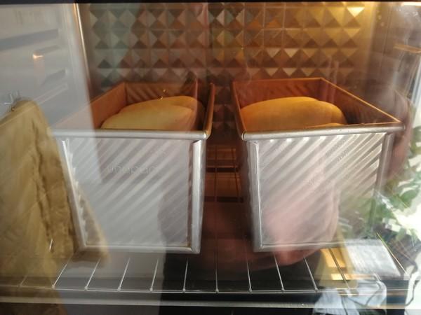 牛奶吐司的制作方法