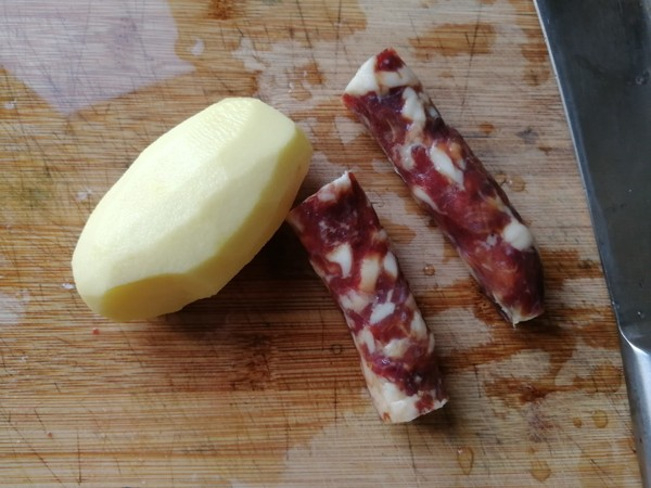 香肠蒸土豆的做法大全