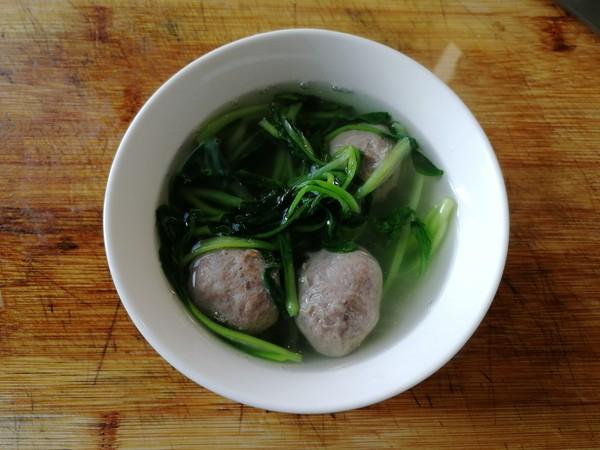 小青菜牛肉丸汤怎么煮
