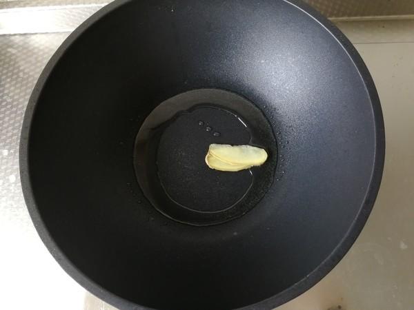 茭白蘑菇炒肉丝的家常做法