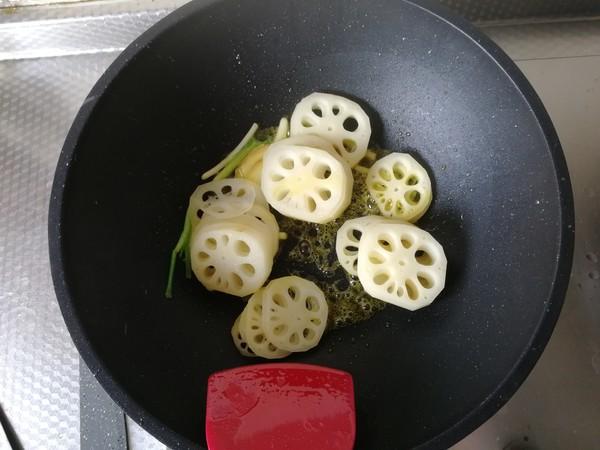 菜籽油炒藕片怎么做