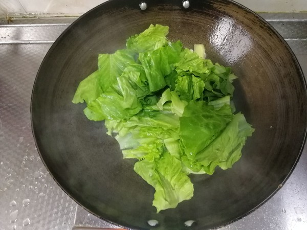 蒜泥生菜的简单做法