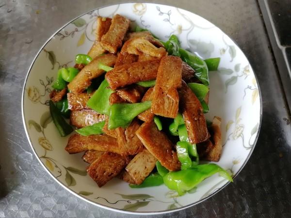 青椒炒香干怎么煮