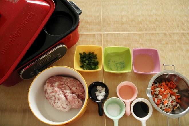 香菇胡萝卜肉饼的做法大全