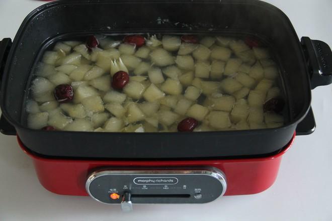 秋日暖汤,百合雪梨汤怎么做