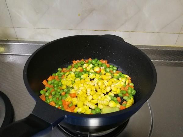 豌豆玉米粒的简单做法