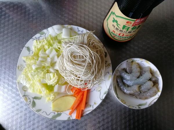 蔬菜虾仁炒面的做法大全