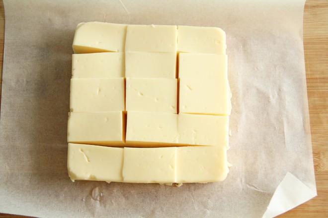 网红芝士烤牛奶块怎么煮