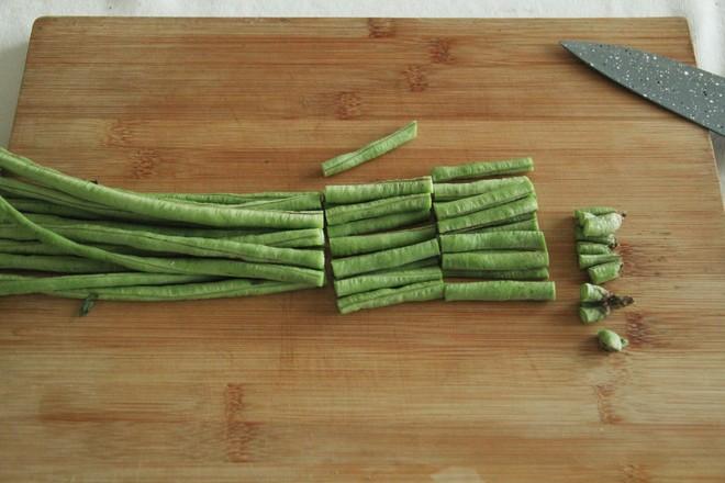 不一样的家常菜,花生酱蘸汁豆角的做法大全