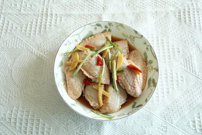 夏日鲜嫩清蒸鸡翅中怎么吃