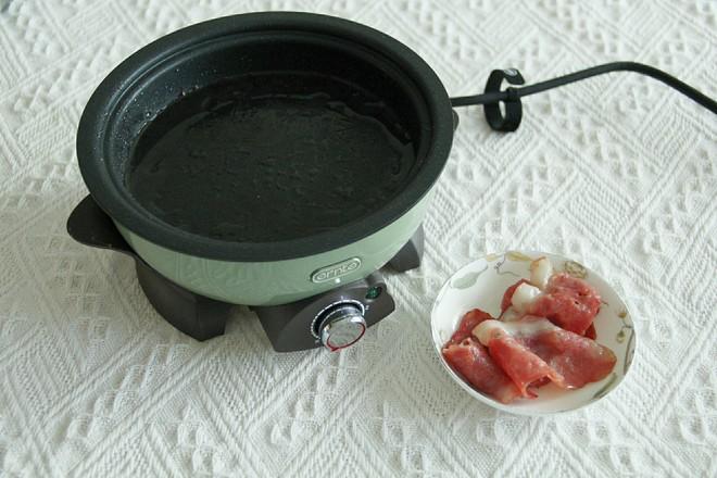 咖喱培根乌冬面的家常做法