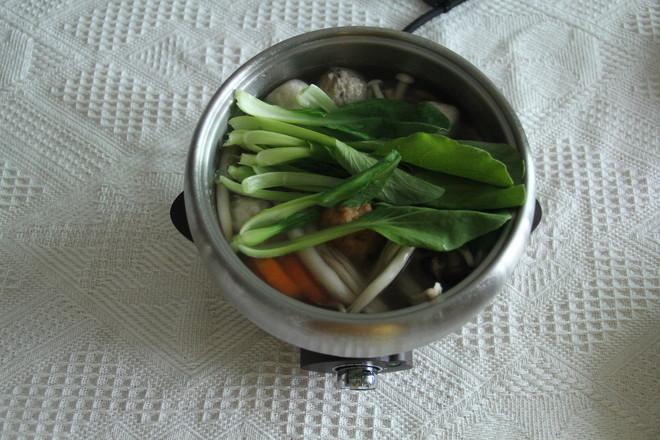 菌菇小火锅怎么吃