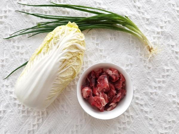 牛肉白菜包的做法大全