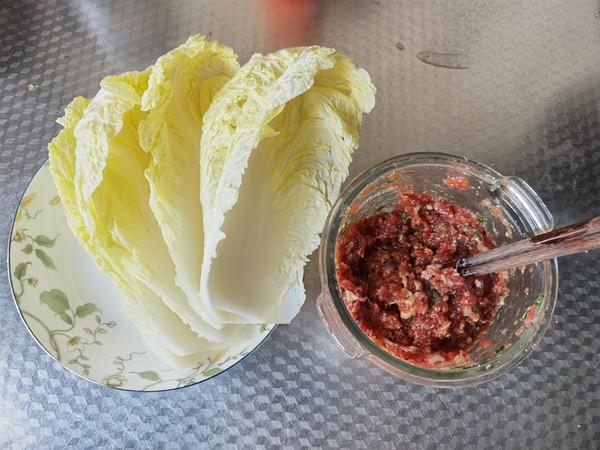 牛肉白菜包的简单做法