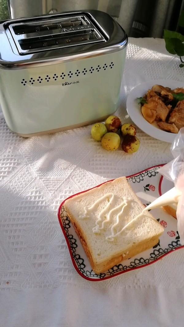 流心鸡肉三明治的家常做法