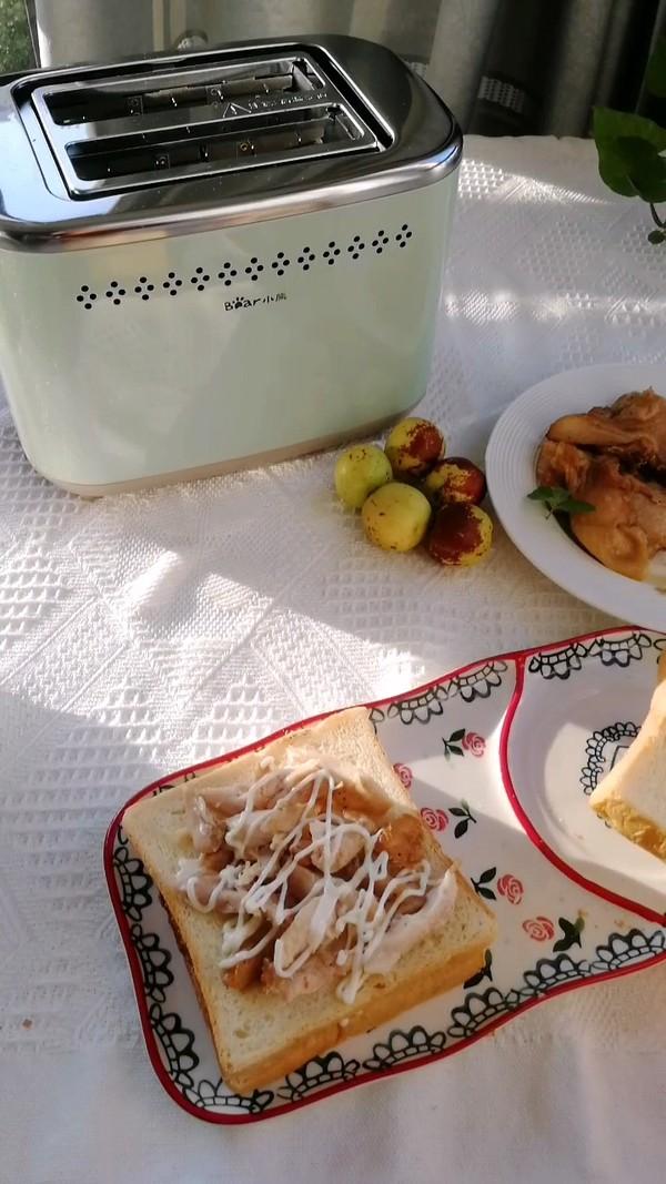 流心鸡肉三明治的简单做法