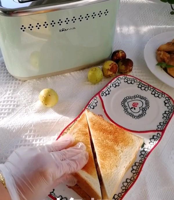 流心鸡肉三明治怎么做