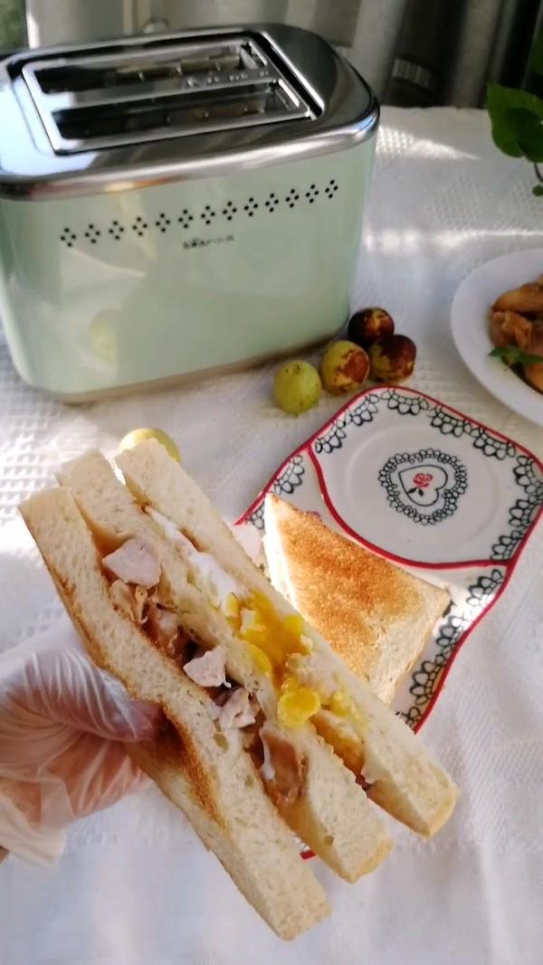 流心鸡肉三明治怎么炒