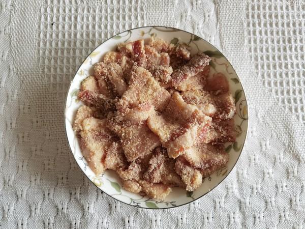 简单方便的蒸菜安排!粉蒸肉,肥而不腻的简单做法