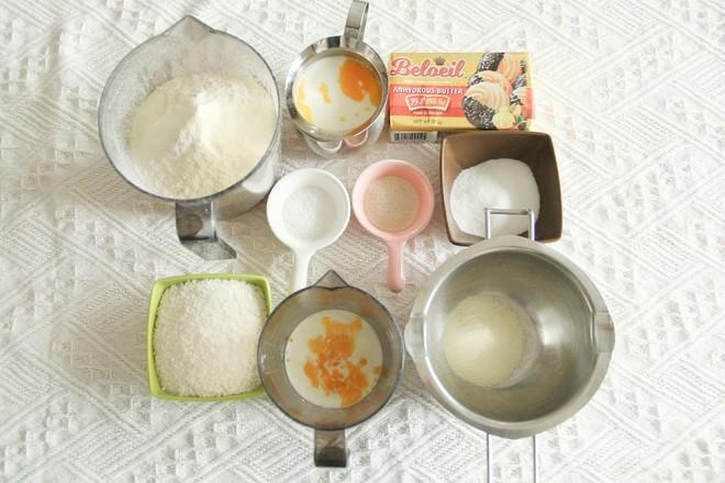 早餐来一根香酥椰蓉奶酥棒,微甜不腻的做法大全