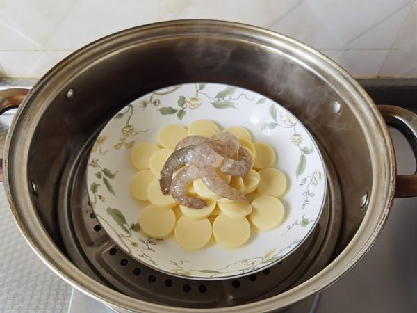 鸡蛋豆腐蒸虾仁怎么做