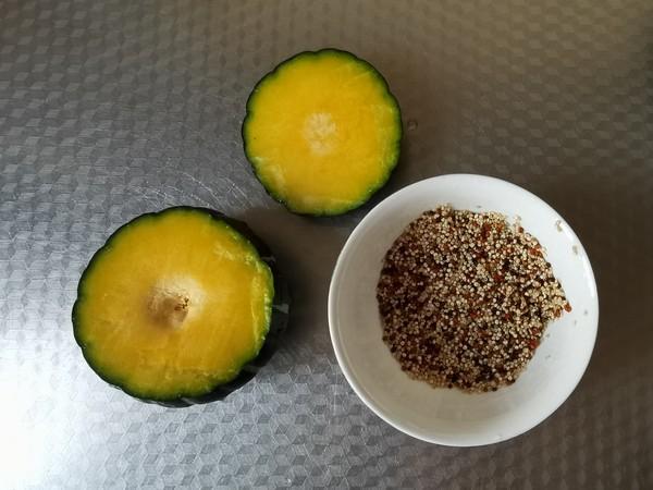 南瓜藜麦饭的步骤
