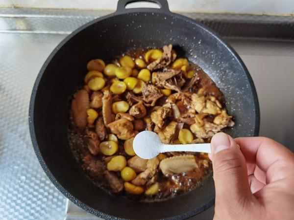 好吃入味的板栗炖鸡怎么炒