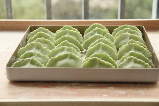 新年午餐,手工如意翡翠饺子安排怎么煮