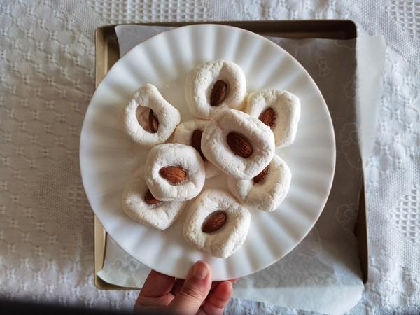 快手小零食,大杏仁烤棉花糖!嘎嘣脆,越嚼越香的简单做法