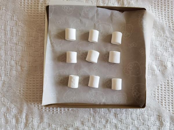 快手小零食,大杏仁烤棉花糖!的做法图解