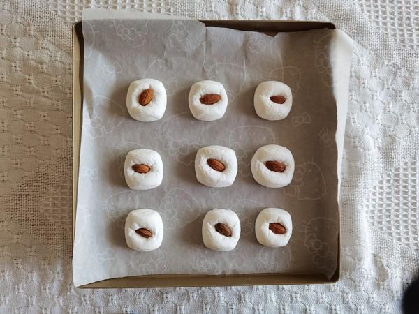 快手小零食,大杏仁烤棉花糖!的简单做法