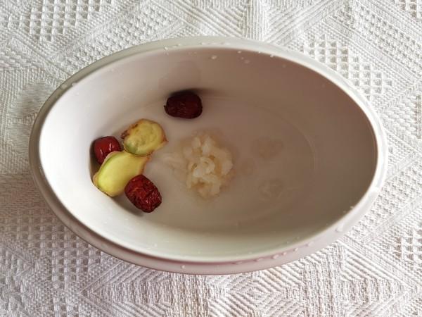 冰糖牛奶木瓜炖雪蛤的做法图解