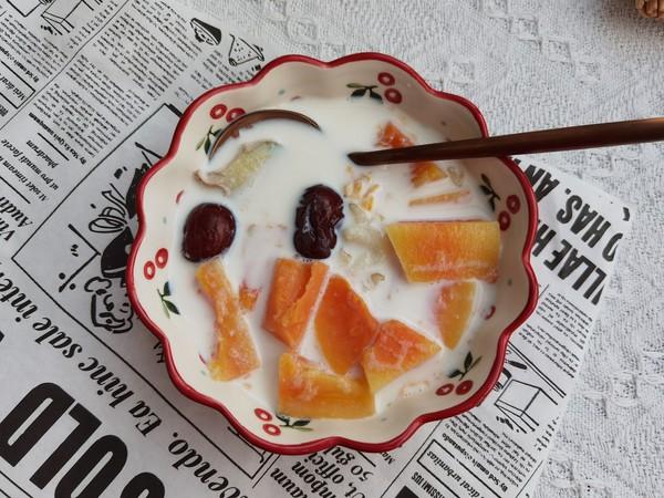 冰糖牛奶木瓜炖雪蛤怎么炖