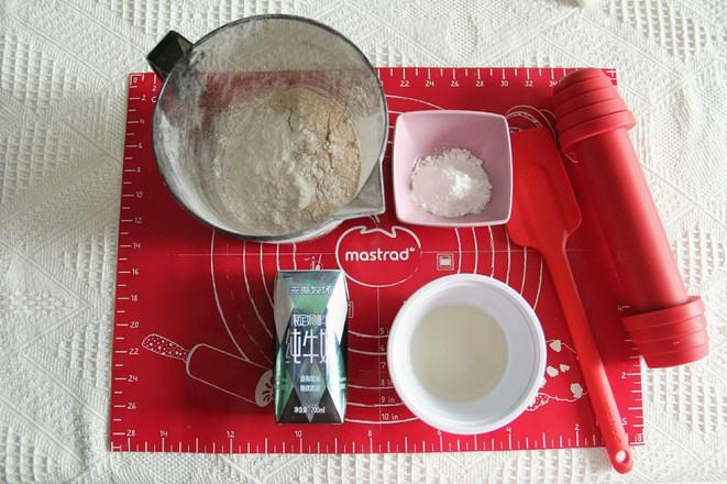 操作简单的全麦消化饼干的做法大全