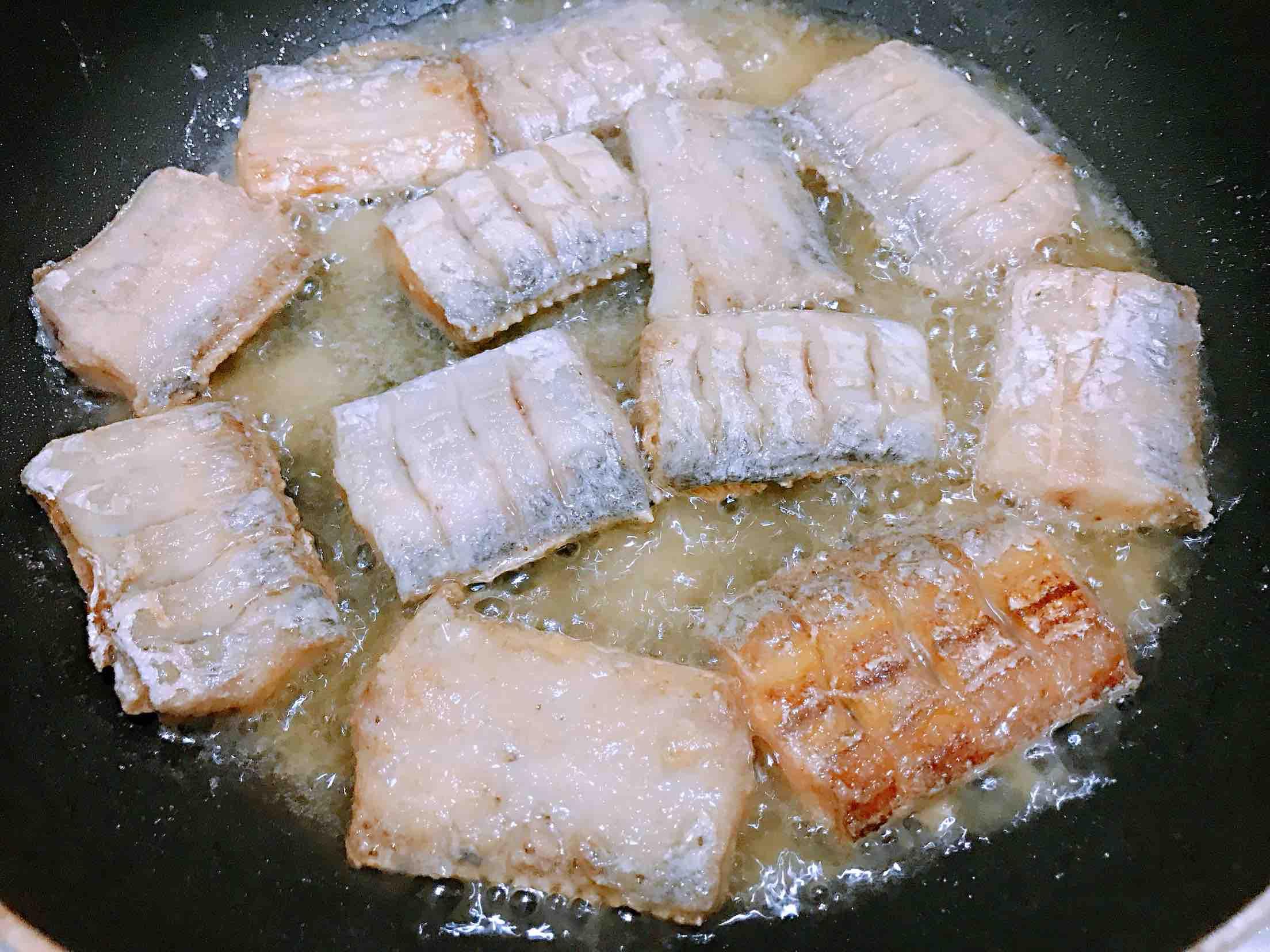 香酥带鱼怎么炒