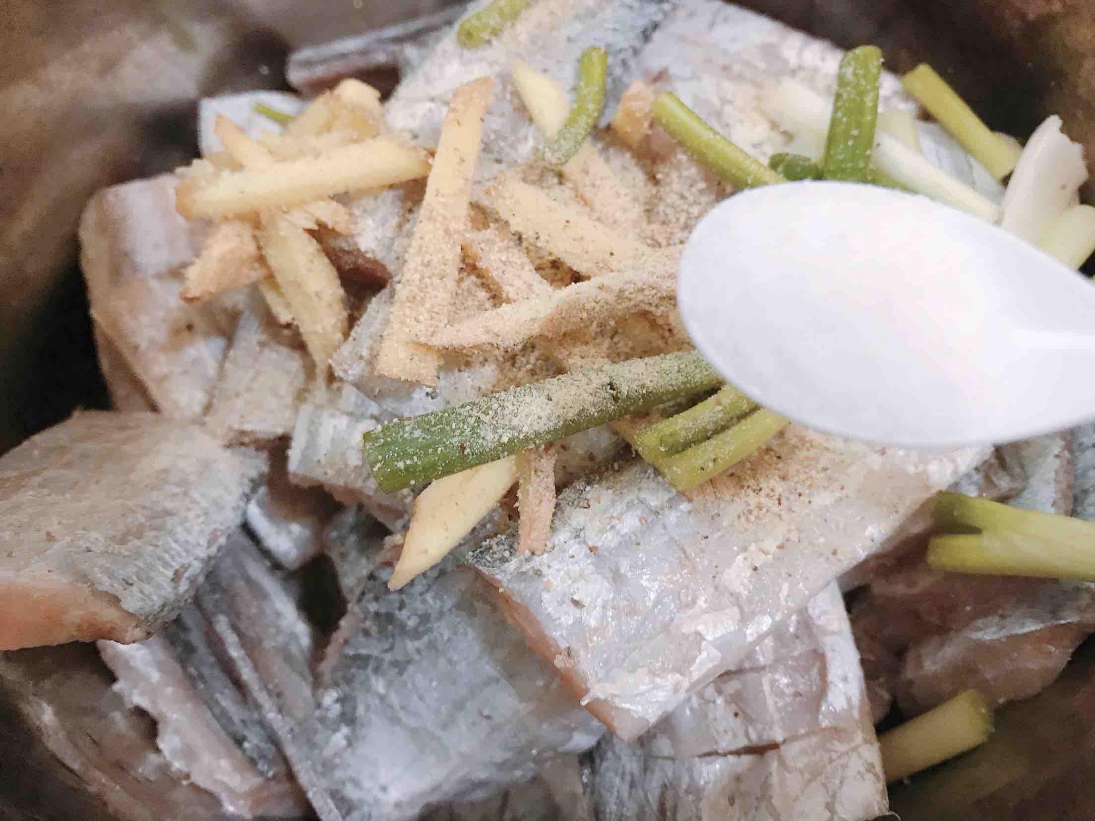 糖醋带鱼的家常做法