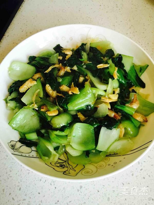 海米油菜的简单做法