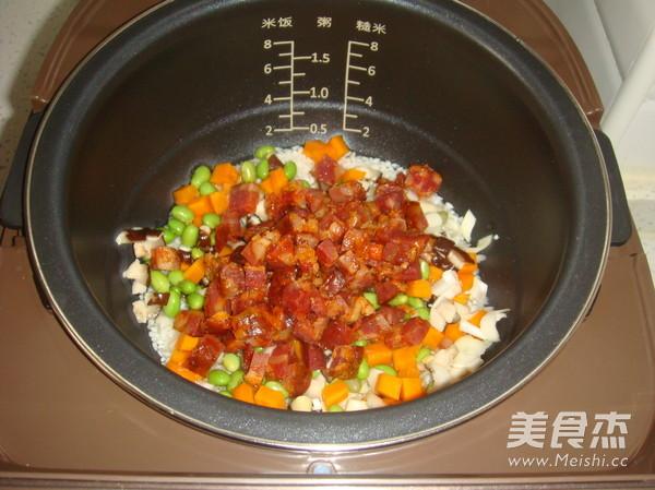 七彩米饭怎么炒