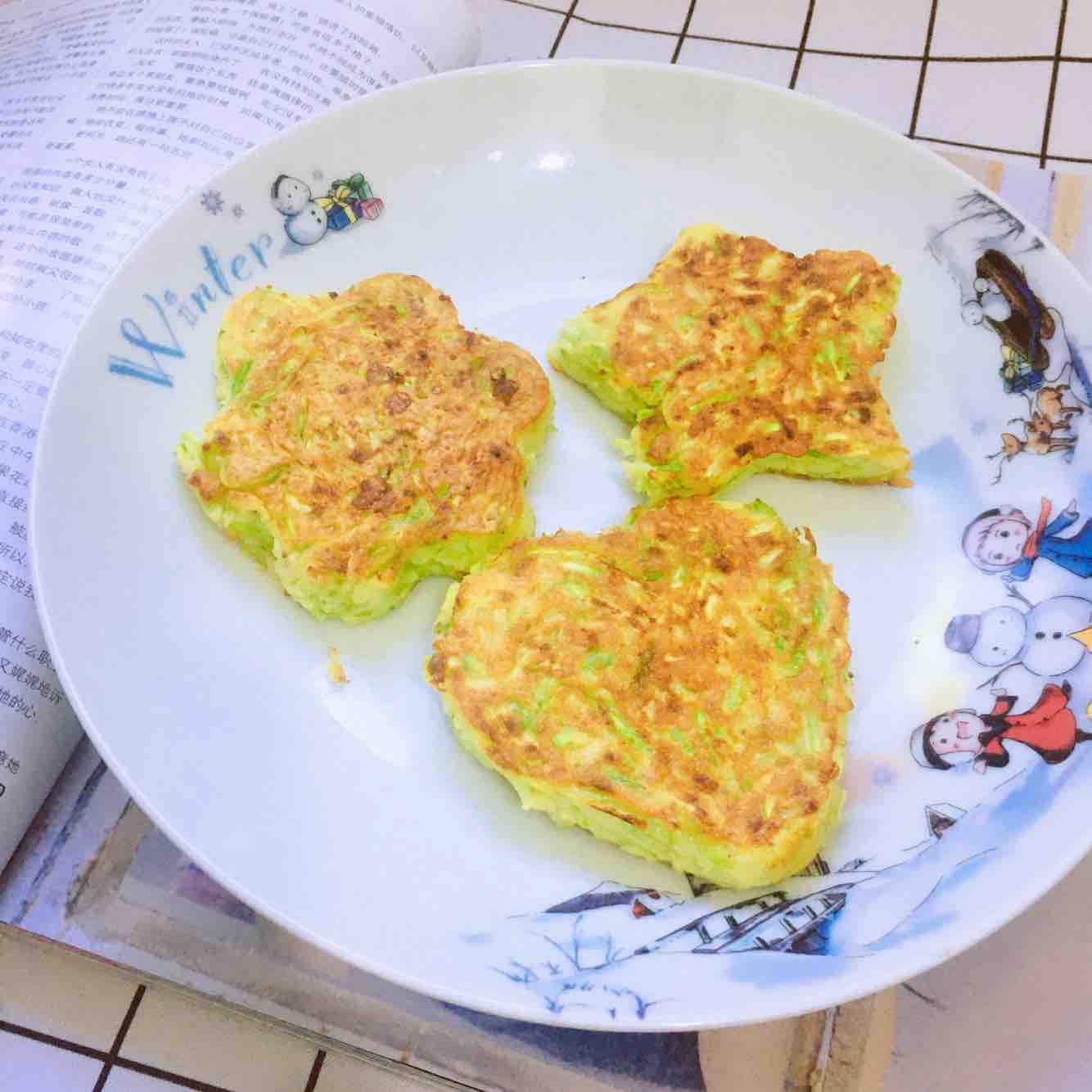 快手早餐!!西葫芦鸡蛋饼的简单做法