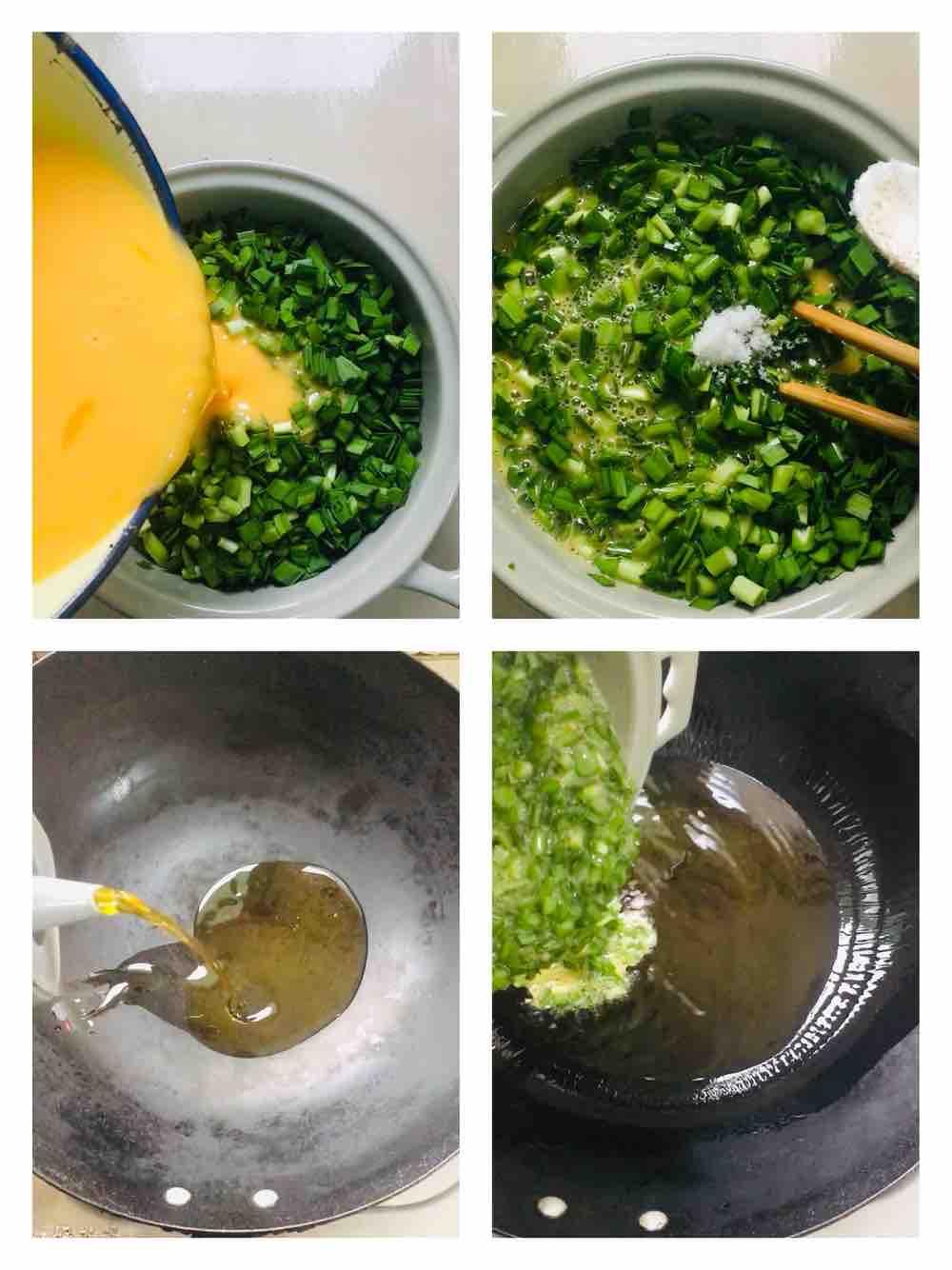 原汁原味韭菜炒鸡蛋的做法图解