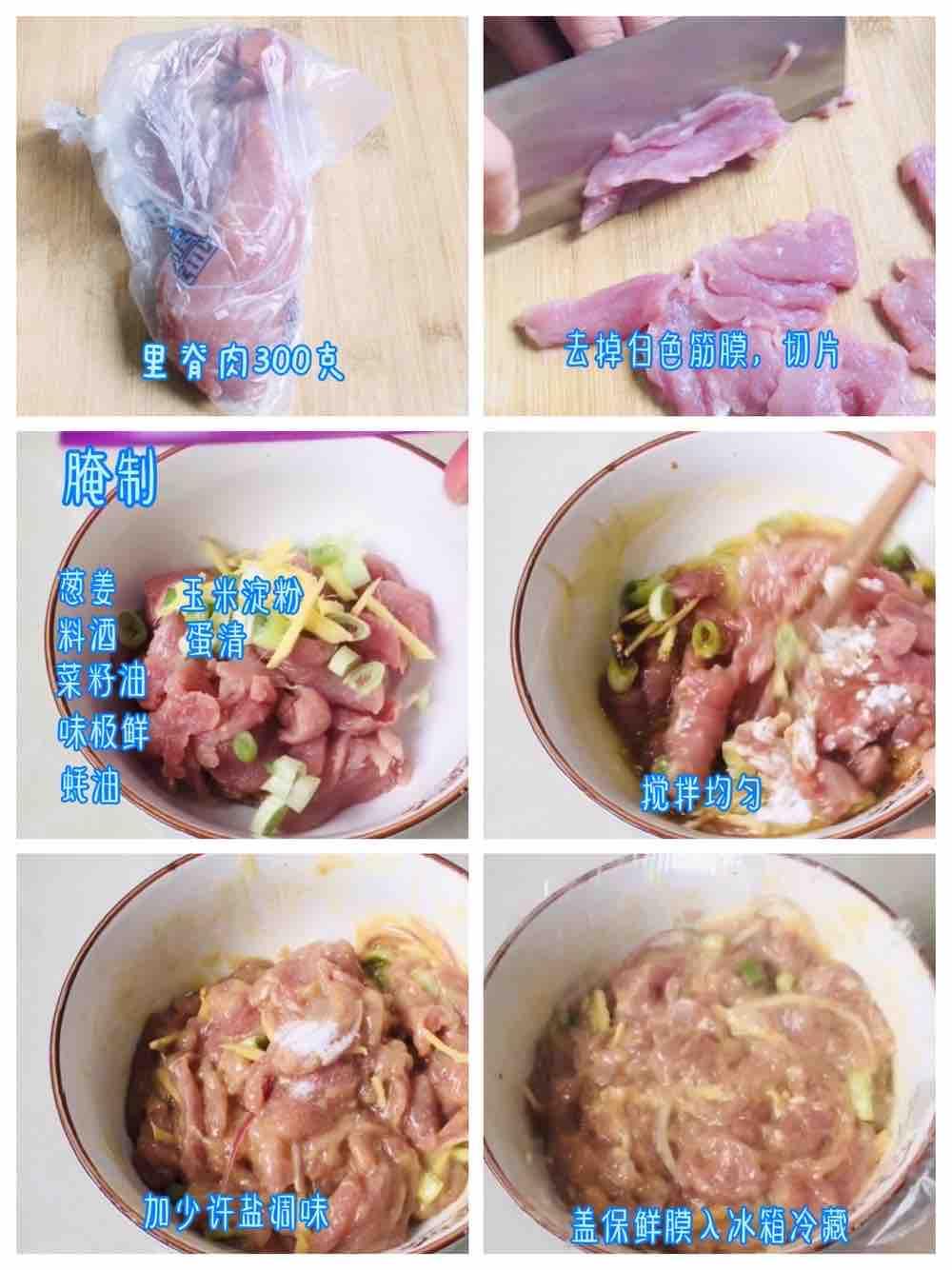 小龙虾口味水煮肉片!的做法大全
