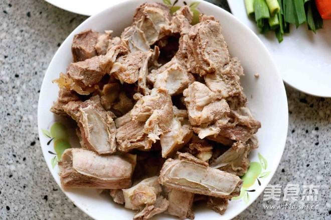 羊肉胡萝卜火锅的做法图解