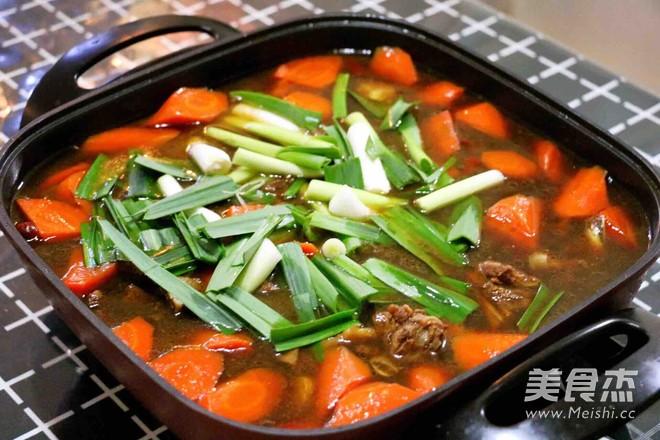 羊肉胡萝卜火锅怎么吃