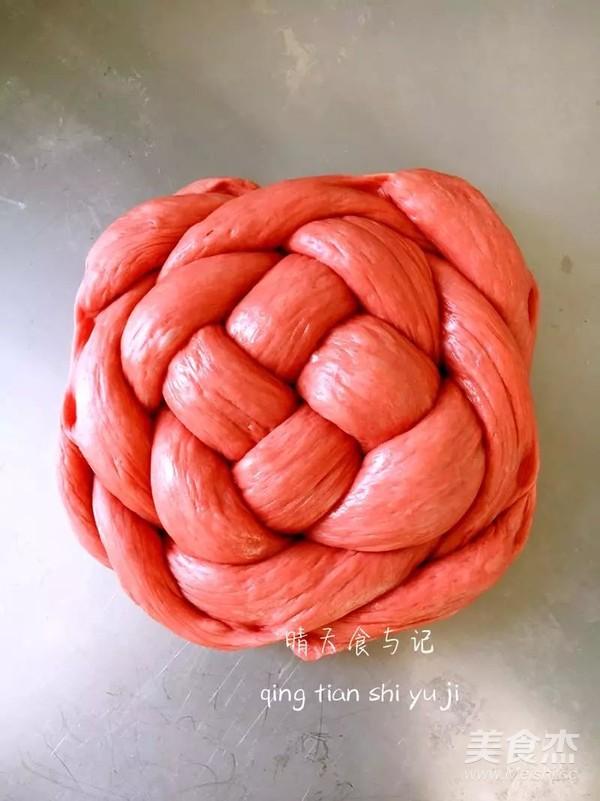 富贵吉祥中国结花包!怎么煮