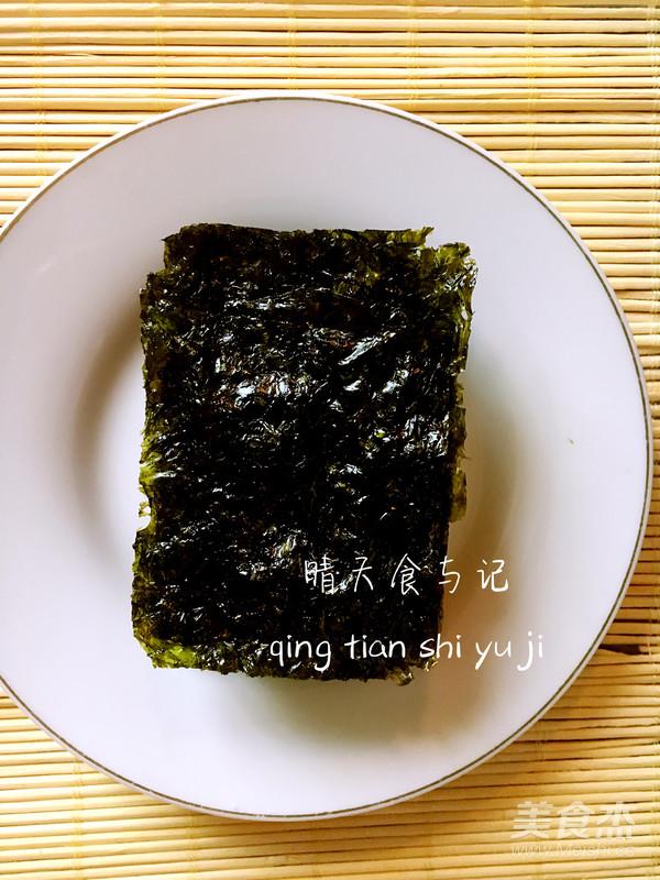 清新鲜美明太子绿茶饭!的简单做法