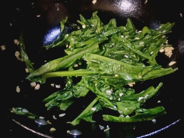 蒜蓉油麦菜怎么煮