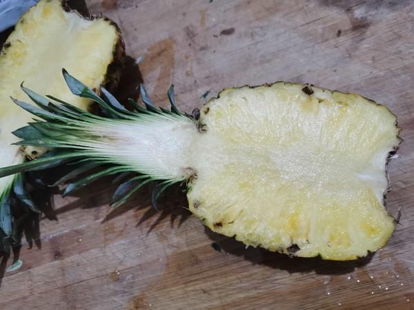 伏天开胃——菠萝五彩炒饭的做法大全