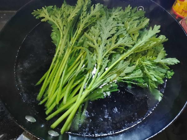 凉拌蒿子秆怎么吃